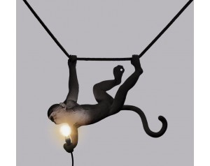 Monkey Lamp Swing Black