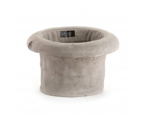 Concrete Hat Planter #Cylinder