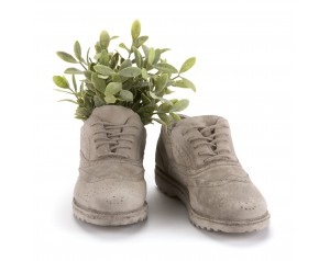 Concrete Planter #Shoes