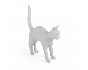 Jobby The Cat White