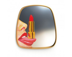Mirror Gold Frame Tongue