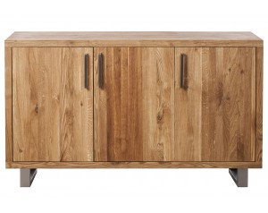Quantum Oak 3 Door Sideboard