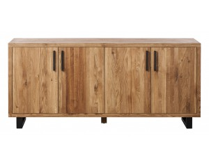 Quantum Oak 4 Door Sideboard