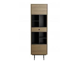 Korgen Oak Small Bookcase