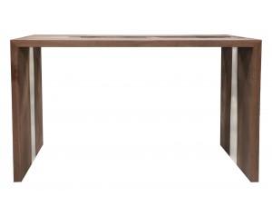 River Walnut Console Table