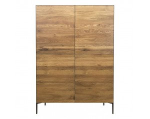Ortello oak highboard 4D