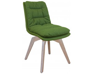 Zebra Chair Oak Legs