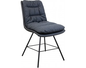 Zebra Chair Metal Legs Option 1