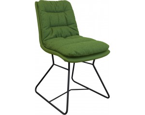 Zebra Chair Metal Legs Option 3